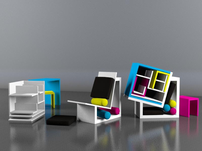 rewind concorso di design collaborazione render Lorenzo Cristofori